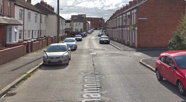Channing Street in east Belfast. Credit: Google