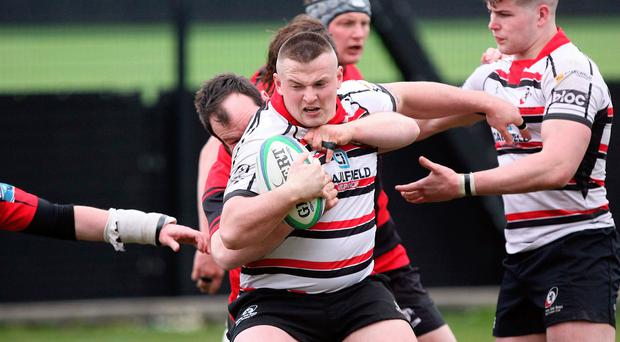 Comeback: Prop Tommy O'Hagan is in line to play for Hinch after injury