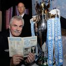 A 17-year-old Alan Fraser almost helped Linfield humble Manchester City in the European Cup.