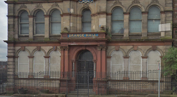 Clifton Street Orange Hall. Credit: Google