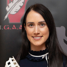 Top stuff: Tina Hannon with her GAA Writers' award