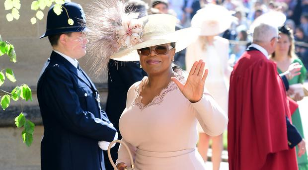 Oprah Winfrey is working on a documentary with the Duke of Sussex (Ian West/PA)