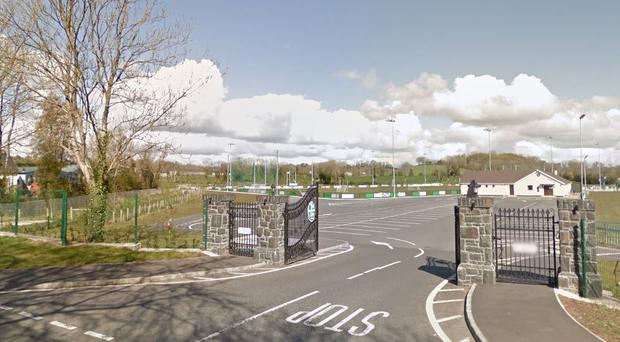 Siobhan McVey collapsed while attending a GAA match at St Patrick's GAC Loup. Credit: Google Maps