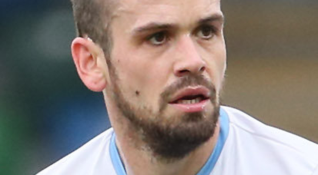 Clear focus: Tony Kane is striving to help Ballymena finish in second spot