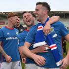 Linfield won the Danske Bank Premiership season and, with a European victory, could land over €1m as a result.