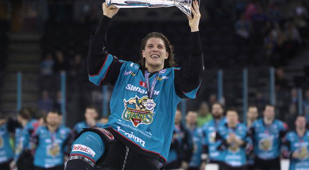 Belfast Giants' Kevin Raine is hoping there will be more trophy celebrations in the near future.
