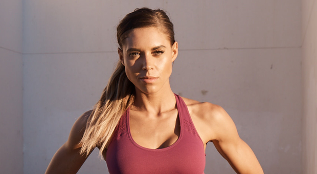 Positive mindset: Kelsey Wells focuses on both physical and mental health with her popular approach to fitness