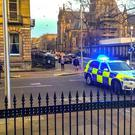 Police are investigating the suspicious death in Edinburgh (Alasdair Morton/Twitter/PA)