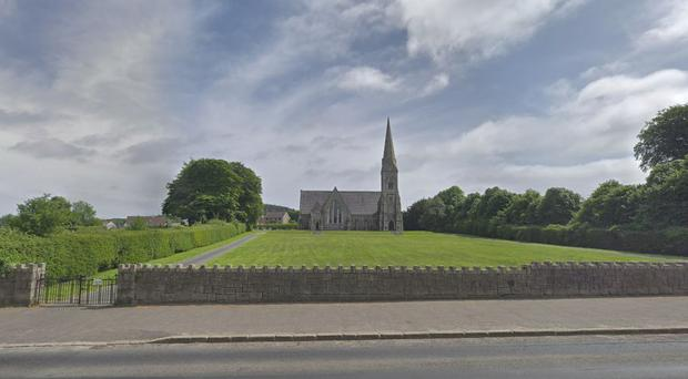 The annual march is due to take place tomorrow between members of the town's Catholic church and neighbouring St Paul's Church of Ireland. Pic Google.