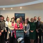 Brenda Chivers hosting the first Easter Lily launch at Causeway Coast and Glens Council. Credit: Sinn Fein.