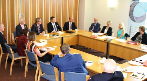 Retail NI meets with Policing Board.