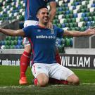 Linfield will play in the Champions League qualifiers this summer and the Irish League could do with some positive results.
