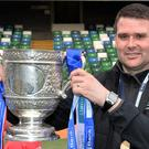 David Healy has won the Gibson Cup twice as Linfield manager.