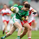 Class act: Teenager Eimear Smyth landed 1-12 for Fermanagh