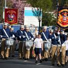 Apprentice Boys of Derry Easter Monday parade in Belfast. Picture by Jonathan Porter/PressEye