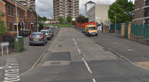 The delivery driver was attacked in the Victoria Parade area. Credit: Google