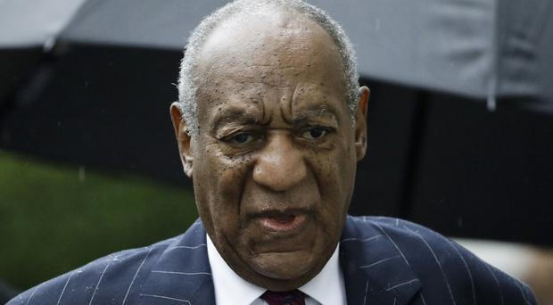 Bill Cosby arriving for his sentencing hearing (Matt Rourke/AP)