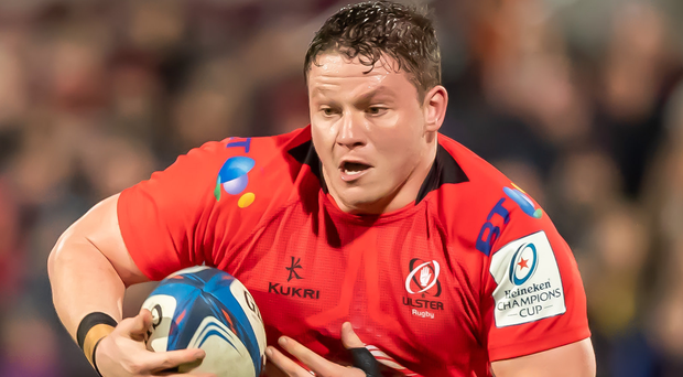 Taking his chance: Ross Kane has stepped up for Ulster when injuries have struck the team