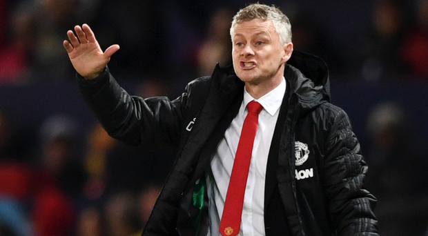 Big battle: Ole Gunnar Solskjaer has warned his United players that City will be aggressive at Old Trafford tonight