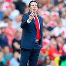 Focused: Unai Emery says his side are ready for a battle