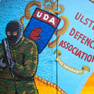 Searches carried out as part of an operation centred on criminal activities of UDA.