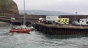 RNLI lifeboats were dispatched to rescue the yacht.