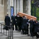 The funeral of journalist Lyra McKee at St Anne's Cathedral