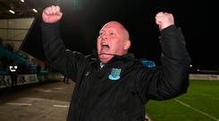 David Jeffrey and Ballymena United are off to Europe