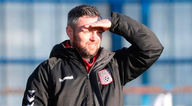 Turnaround: Dergview manager Ivan Sproule has been inspirational in guiding his side to Championship safety
