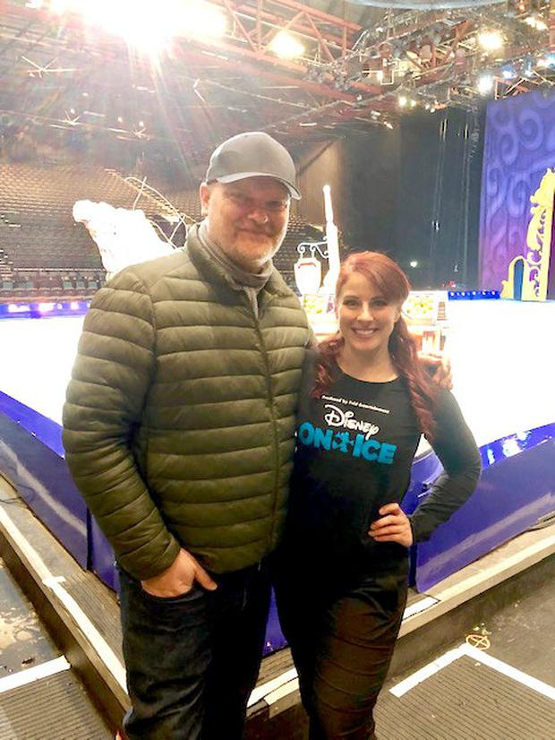 Ralph Meets Disney On Ice skater Laura Hudson
