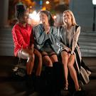 Girl power: Gina Rodriguez (centre) with DeWanda Wise (left) and Brittany Snow in Someone Great