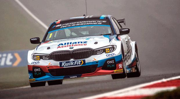 Positive thinking: Colin Turkington believes he can get his championship hopes back on track at Donington this weekend