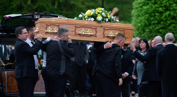 The funeral of Patrick 'Patsy' Healy