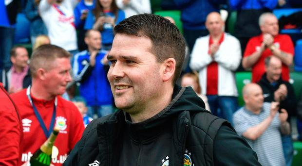 Looking ahead: David Healy won't rest on his laurels