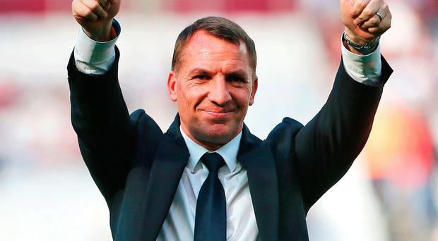 Leicester boss Brendan Rodgers