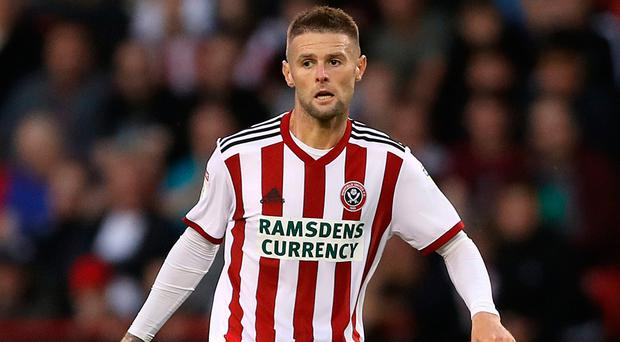 Oliver Norwood captained Sheffied United on The Blades' Premier League return last week.