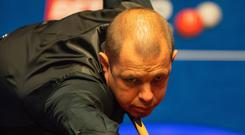 Century boy: Barry Hawkins