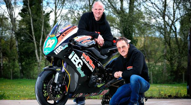 Planning ahead: Ryan Farquhar and Jeremy McWilliams