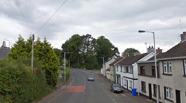 The arson attack happened on Conyngham Street in Moneymore in the early hours of Monday morning. Credit: Google Maps
