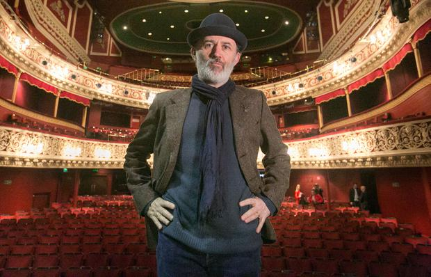 Tommy Tiernan at the Gaiety Theatre, Dublin. Photo: Gareth Chaney Collins