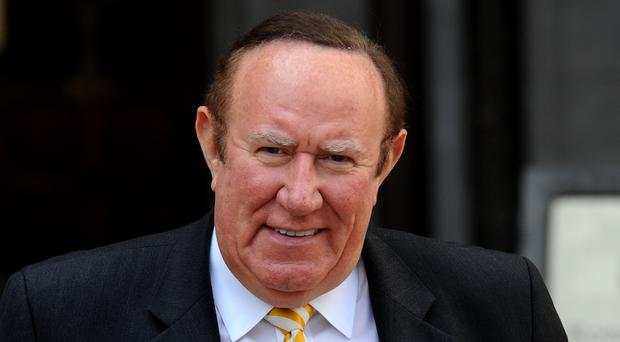 Andrew Neil made a false claim on Sunday Politics (Nick Ansell/PA)