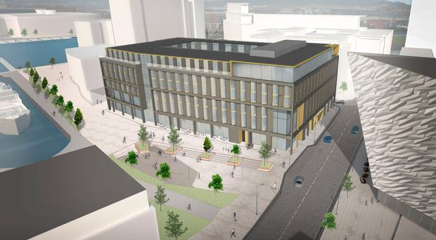 JMK's new 280-bedroom hotel next to Titanic Belfast would make it one of the city's biggest