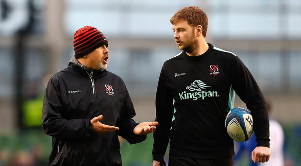 Listening brief: Iain Henderson with Ulster boss Dan McFarland