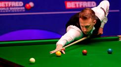 Defending champion Judd Trump looks to be in brilliant form at the NI Open