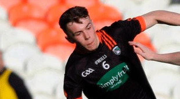 On target: Dara O'Callaghan got three points for Armagh