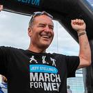 Sky Sports presenter Jeff Stelling, who is an advocate for Prostate Cancer UK's March for Men