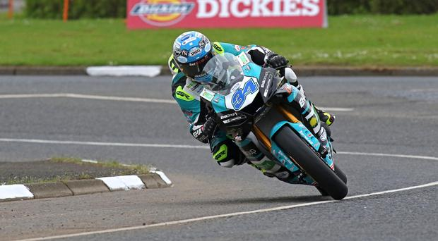 Hot wheels: Alastair Seeley is ready for the NW200 after a pair of second places at Oulton Park