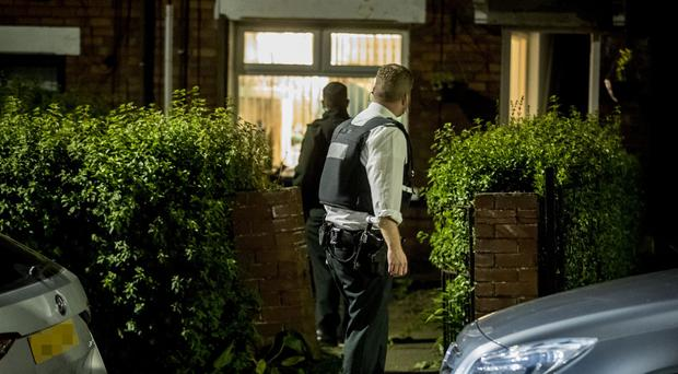 Police at the scene of a stabbing incident in the Alliance Avenue area of North Belfast on May 5th 2019 (Photo by Kevin Scott for Belfast Telegraph)