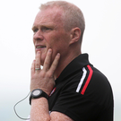 Game plan: Damian McErlain wants to see Derry go on the attack