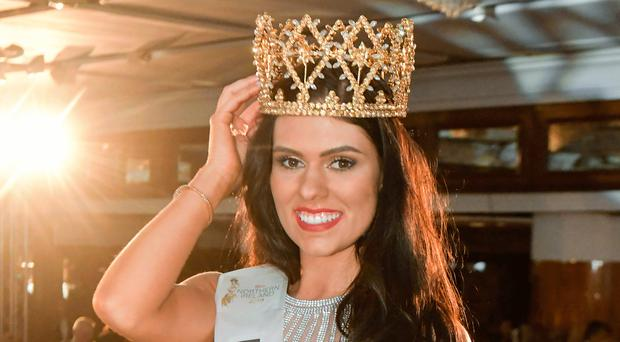 Lauren Leckey is crowned the new Miss NI